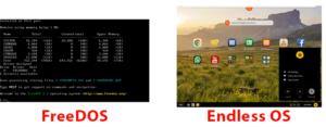 Cosa sono FreeDOS, Endless OS